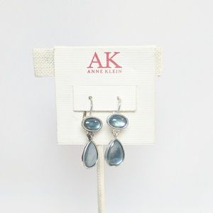 Anne Klein Jewelry - Anne Klein Blue & Silver Drop Earrings